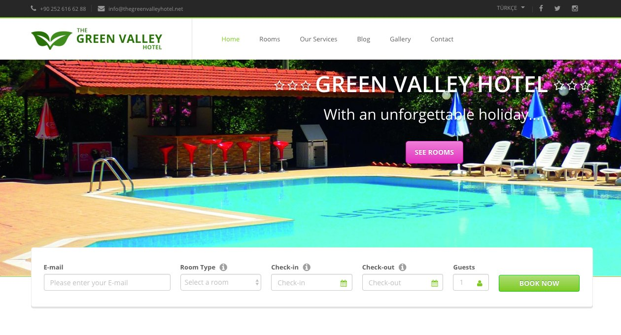 The Green Valley Hotel