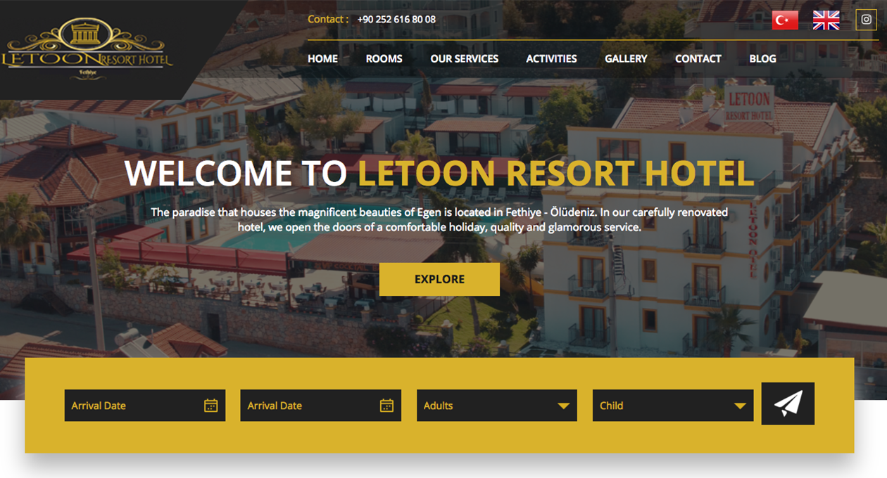 Letoon Resort Hotel